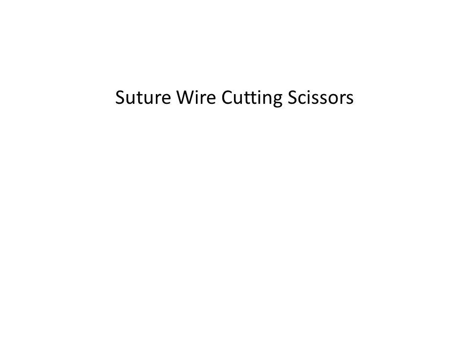 Suture Wire Cutting Scissors
