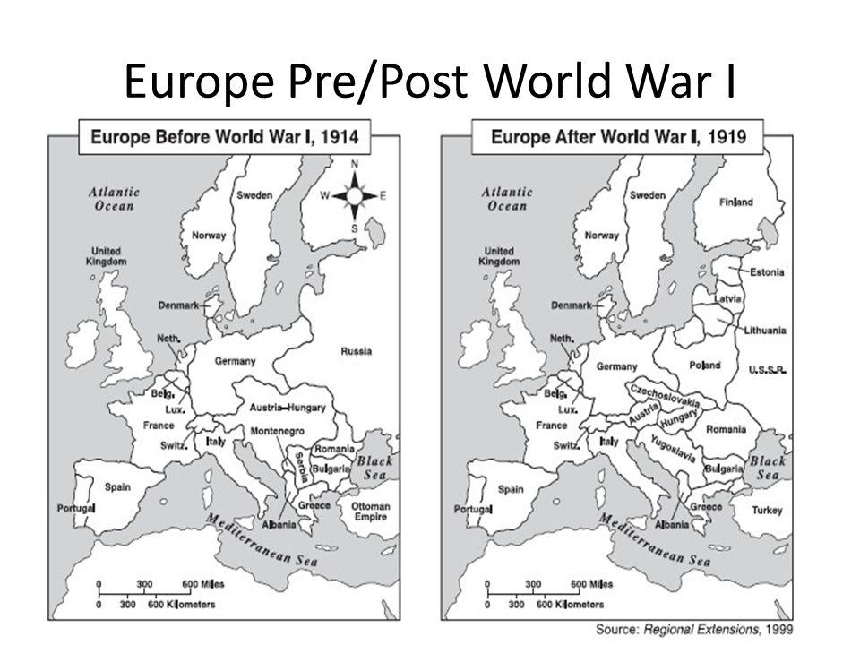 Europe Pre/Post World War I
