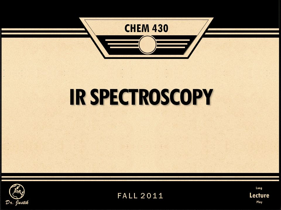 162 IR Spectroscopy II.Instrumentation and Experimental Aspects B.The IR Spectrometer – Experimental aspects 6.Differences in Spectral Appearence Compare the following three IR spectra of p-cresol CCl 4 Solution
