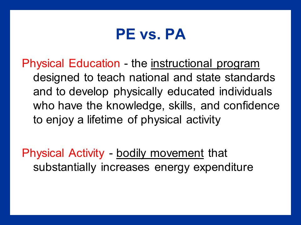 PE vs.