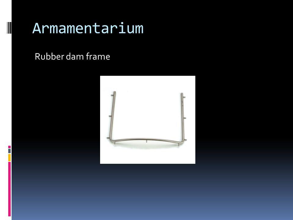 Armamentarium Rubber dam frame