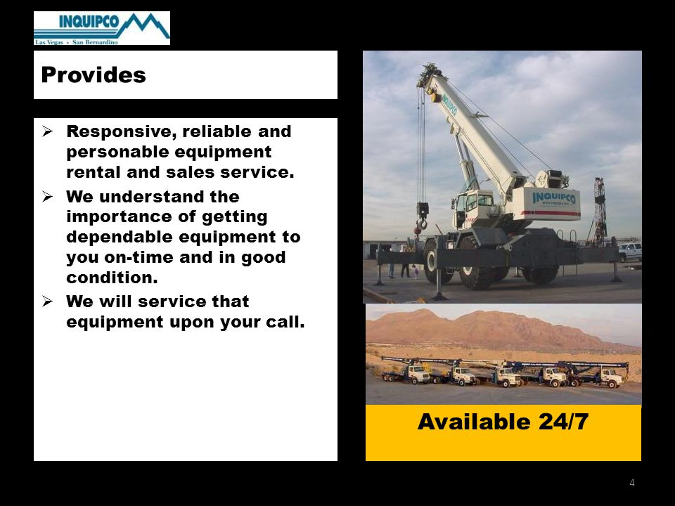 Core Competencies  Crane Operations  Rigging Services  Lift Engineering  Project Planning  Package Operations Innovation in Lifting Solutions 5