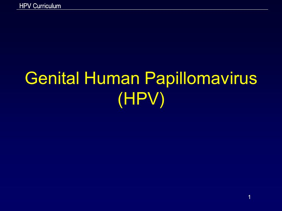 HPV Curriculum 2 Learning Objectives Upon completion of this content, the learner will be able to 1.Describe the epidemiology of genital HPV infection in the U.S.; 2.Describe the pathogenesis of genital HPV; 3.Discuss the clinical manifestations of genital HPV infection; 4.Identify methods used to diagnose genital warts and cervical cellular abnormalities; 5.Discuss CDC-recommended treatment regimens for genital warts; 6.Summarize appropriate prevention counseling messages for genital HPV infection; 7.Describe public health measures for the prevention of genital HPV infection.