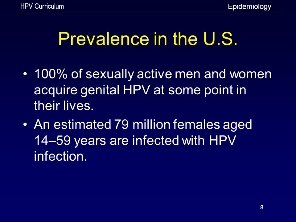 HPV Curriculum 29 Perianal Warts Clinical Manifestations Source: Seattle STD/HIV Prevention Training Center at the University of Washington/ UW HSCER Slide Bank