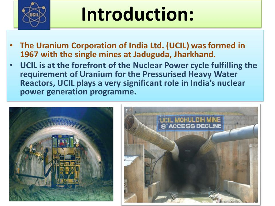 Mohuldih mines: Opened up in 2007 and commissioned in April' 2012, capacity 500 TPD.