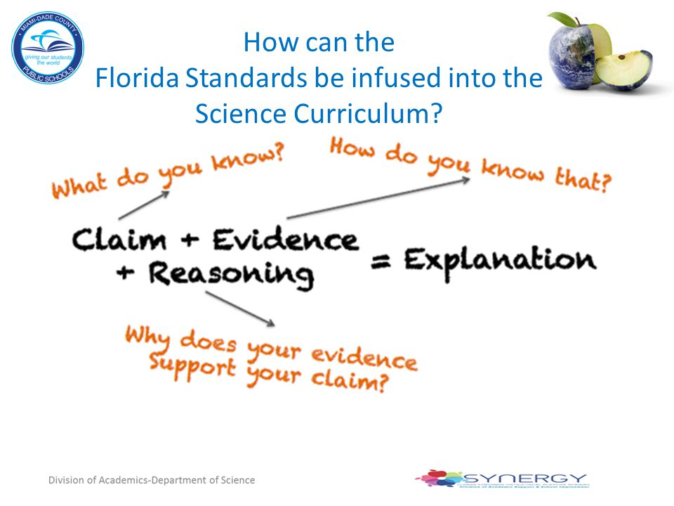How can the Florida Standards be infused into the Science Curriculum?