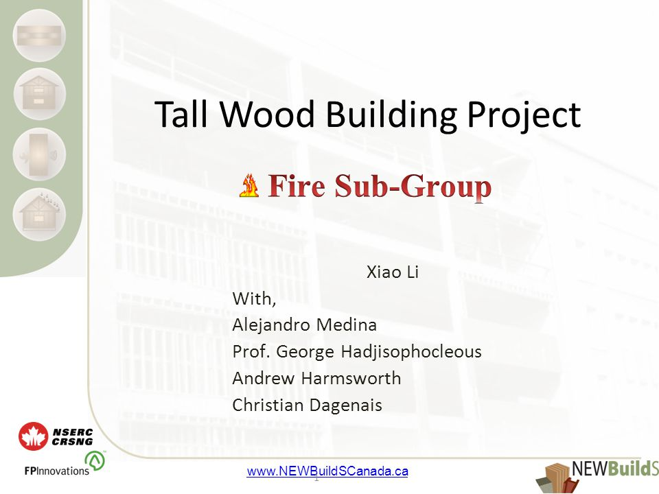 www.NEWBuildSCanada.ca 12 Expected Casualties when a fire occur on any residential storeys among all the occupants (504) Expected Fire Loss when a fire occur on any residential storeys in the whole building