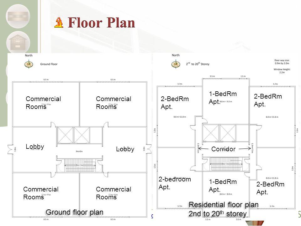 www.NEWBuildSCanada.ca Ground floor plan Residential floor plan 2nd to 20 th storey Residential floor plan 2nd to 20 th storey 2-BedRm Apt.