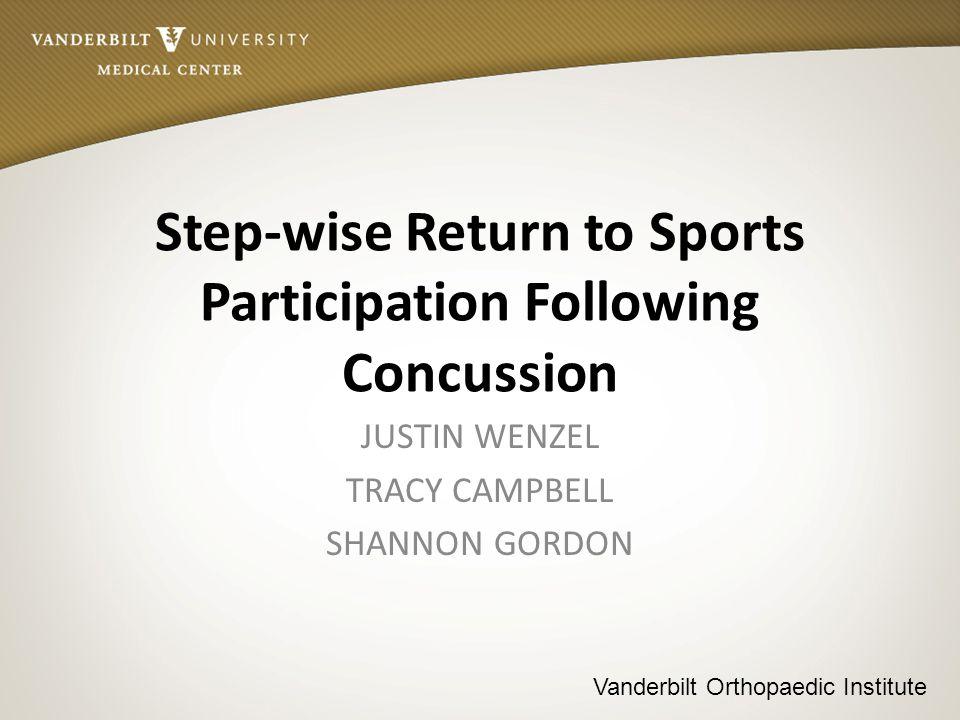 Vanderbilt Orthopaedic Institute Research