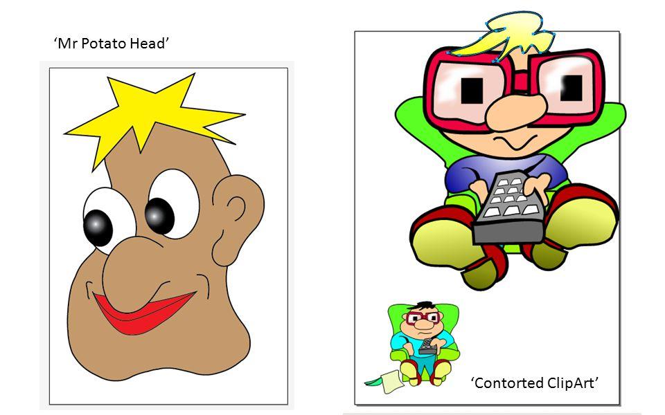 'Contorted ClipArt' 'Mr Potato Head'