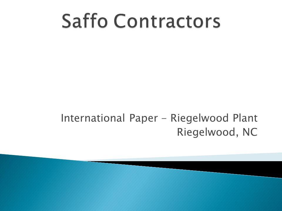 International Paper - Riegelwood Plant Riegelwood, NC