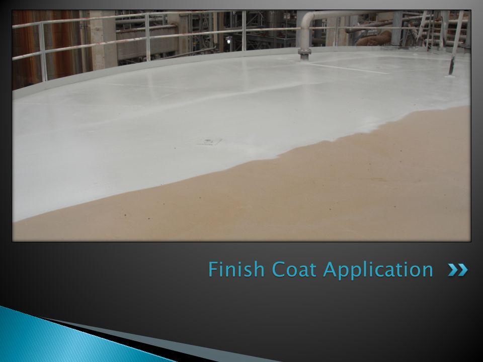 Finish Coat Application