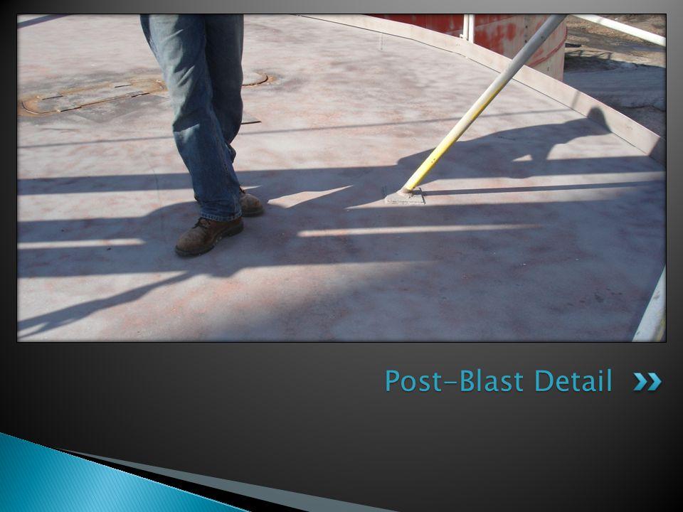 Post-Blast Detail