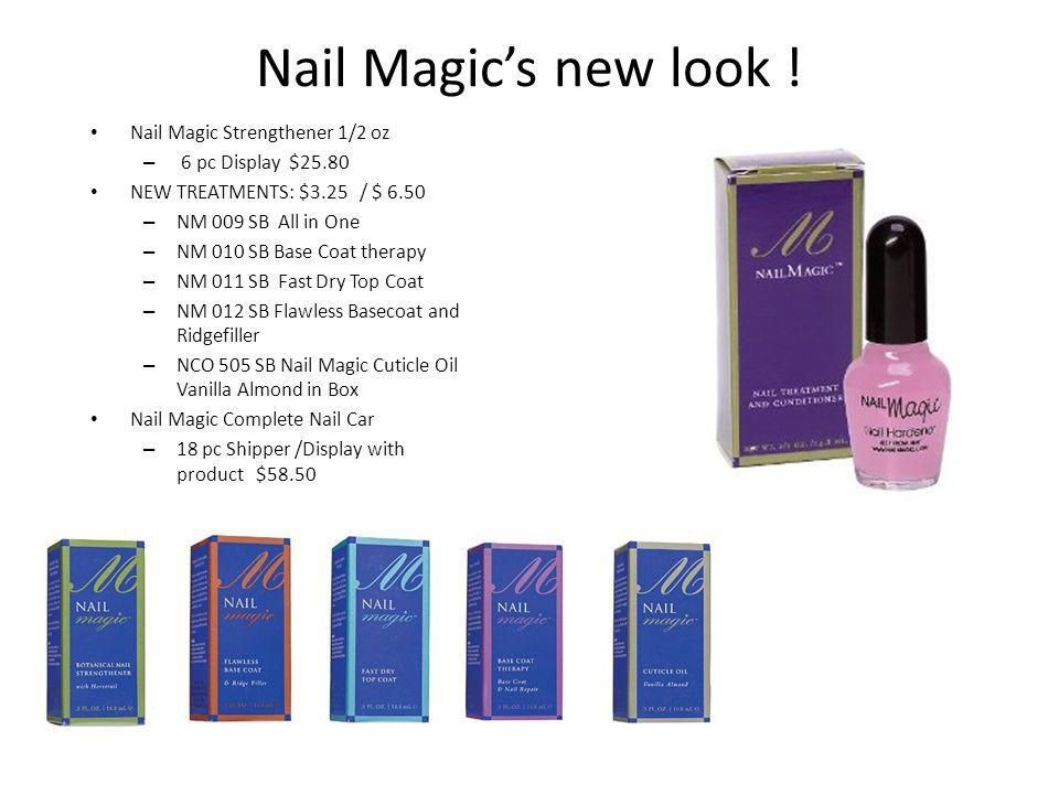 Nail Magic's new look .