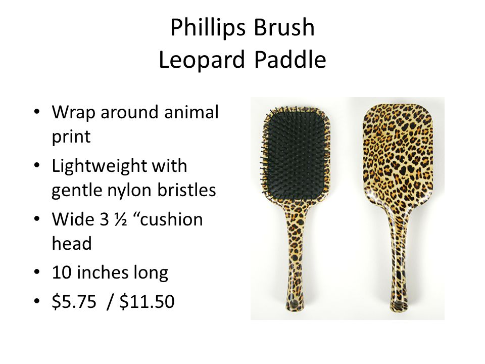 Phillips Brush CL-50 Brush Closed loop bristle design totally eliminates scalp irritation Flexible rubber cushion Great for hair extensions .