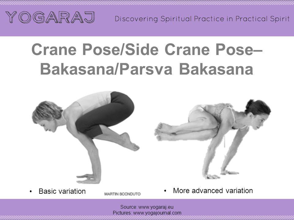 Twisting Garland Pose (prep for bound Garland pose) – (prep pose for) Bada Malasana Source: www.yogaraj.eu Pictures: www.yogajournal.com Bada Malasana