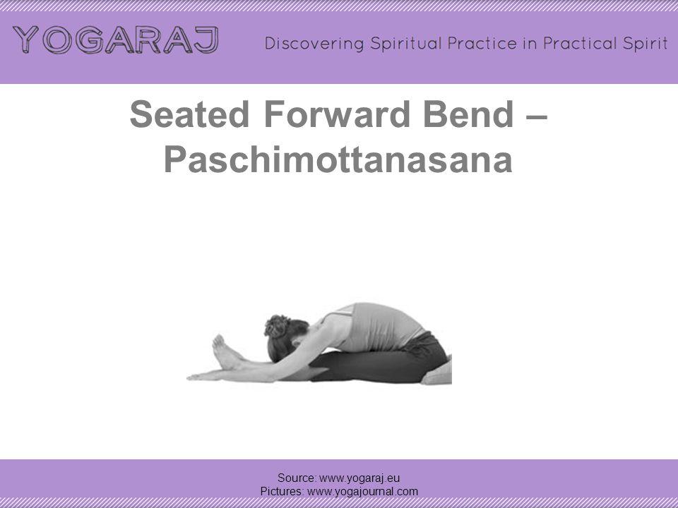 Head-to-Knee forward bend – Janu sirsasana Source: www.yogaraj.eu Pictures: www.yogajournal.com Side 2