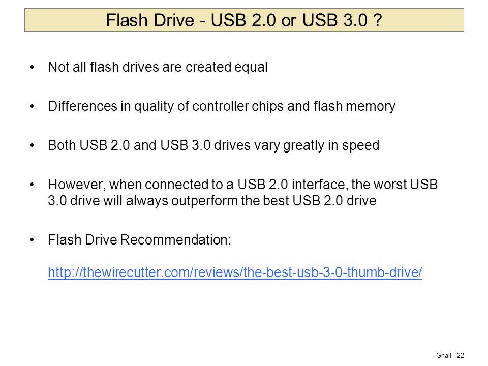 Gnall22 Flash Drive - USB 2.0 or USB 3.0 .