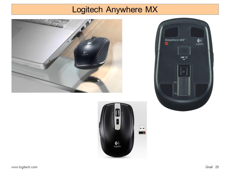 Gnall29 Logitech Anywhere MX www.logitech.com