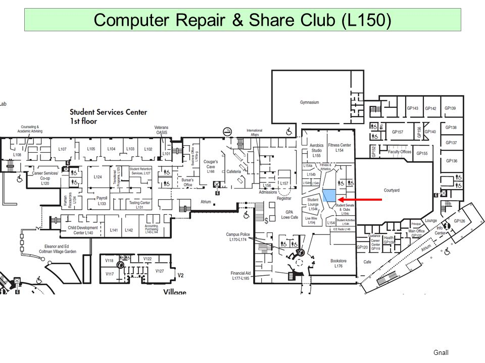 Gnall Computer Repair & Share Club (L150)