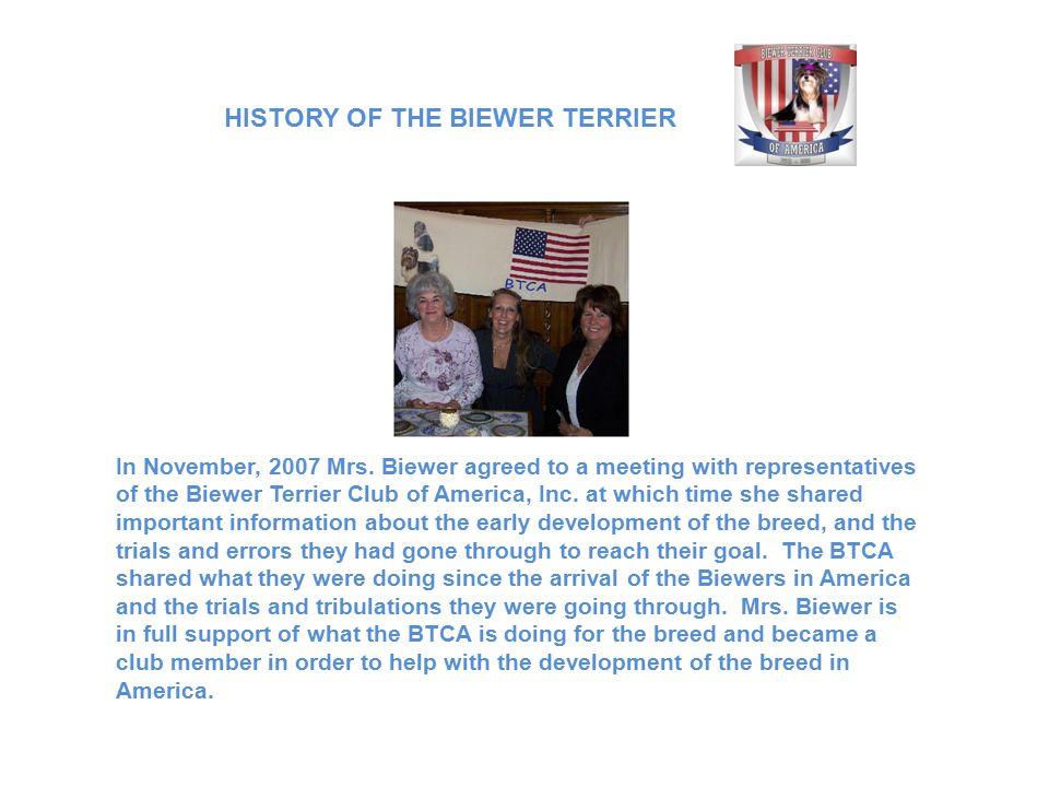 In November, 2007 Mrs.