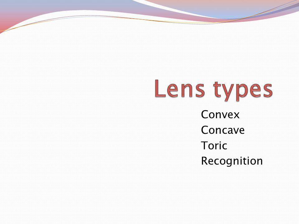 Convex Concave Toric Recognition