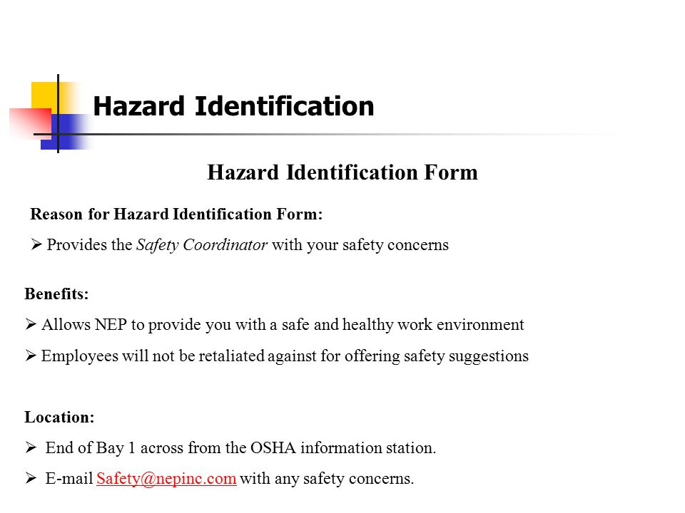 Section 4 Hazard Identification and Communication Compressed Gas Forklift Safety Golf Cart Safety