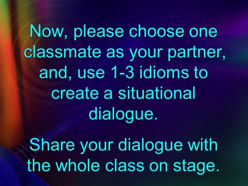 Making a Dialogue