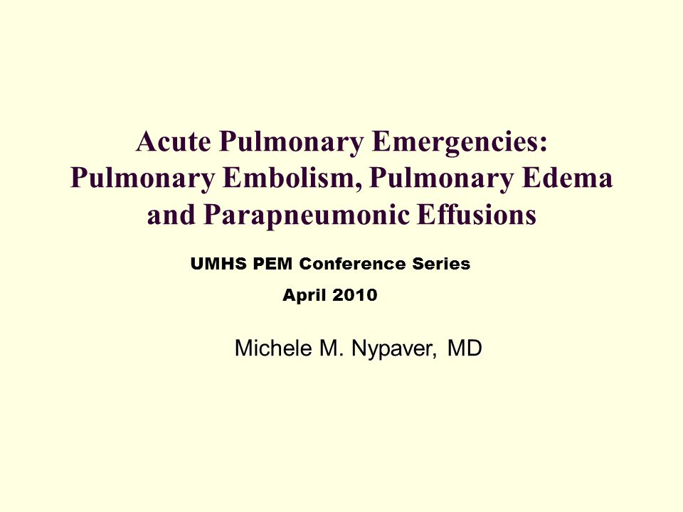 Wells Clinical Prediction Rule for Pulmonary Embolism Clinical featurePoints Clinical symptoms of DVT3 Other diagnosis less likely than PE3 Heart rate greater than 100 beats per minute1.5 Immobilization or surgery within past 4 weeks1.5 Previous DVT or PE1.5 Hemoptysis1 Malignancy1 Risk score interpretation (probability of PE): >6 points: high risk (78.4%); 2 to 6 points: moderate risk (27.8%); <2 points: low risk (3.4%) Wells PS et al.