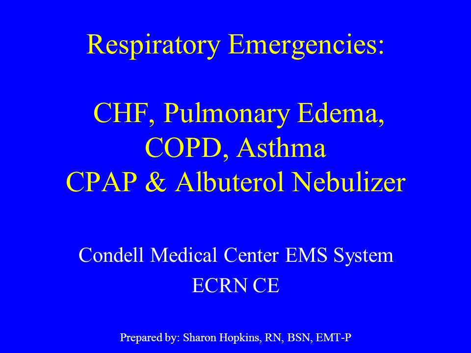 COPD Chronic obstructive pulmonary disease - a progressive and debilitating collection of diseases with airflow obstruction and abnormal ventilation with irreversible components (emphysema & chronic bronchitis) Exacerbation of COPD is an increase in symptoms with worsening of the patient's condition due to hypoxia that deprives tissue of oxygen and hypercapnia (retention of CO 2 ) that causes an acid-base imbalance