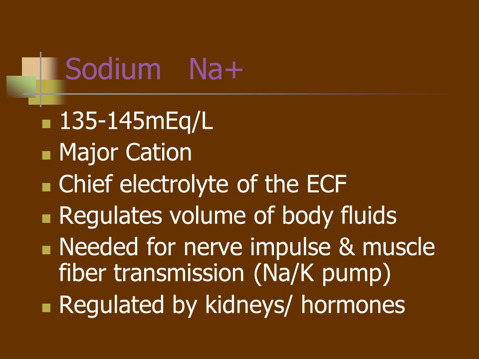 Hmmm… Hyper and Hypo Natremia are the most common electrolyte disturbances.