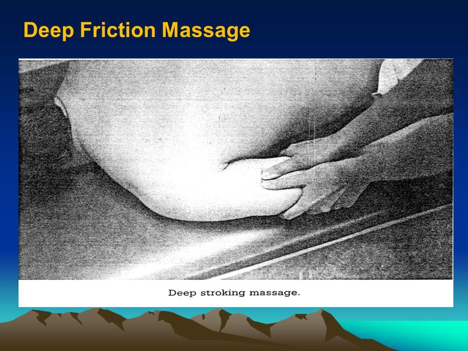 Deep Friction Massage