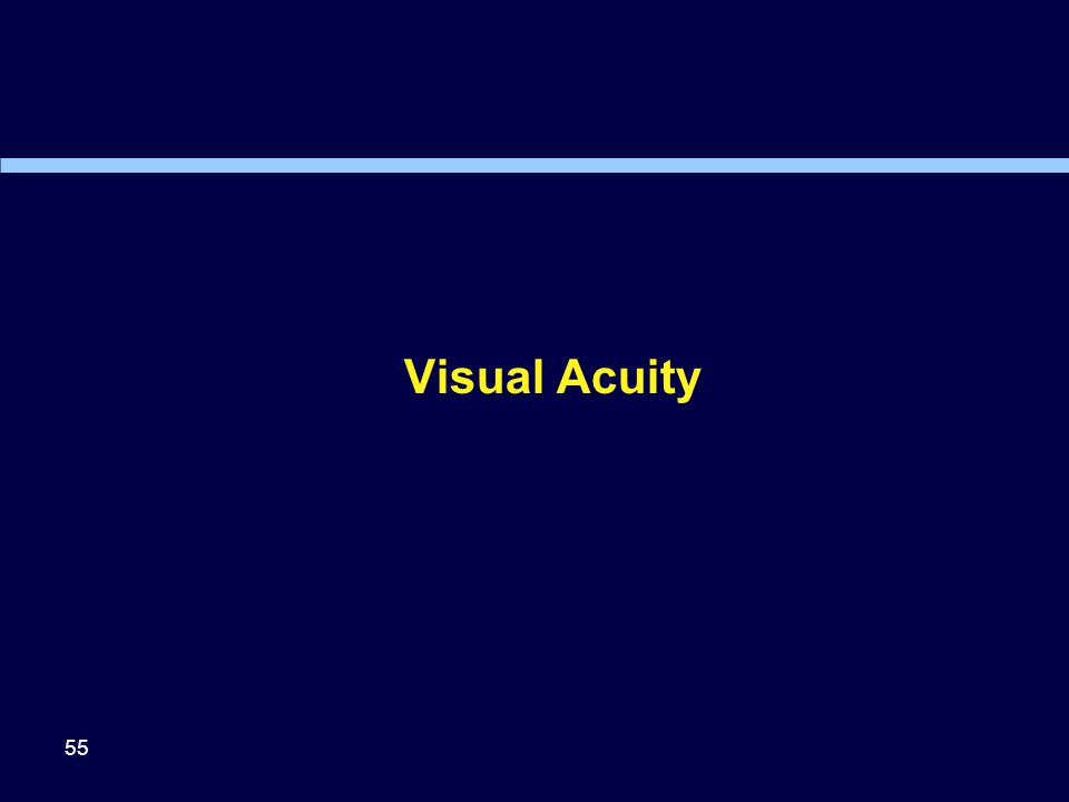 Visual Acuity 55