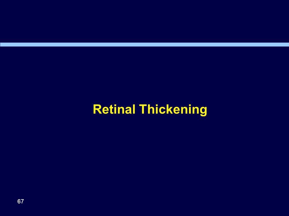 Retinal Thickening 67