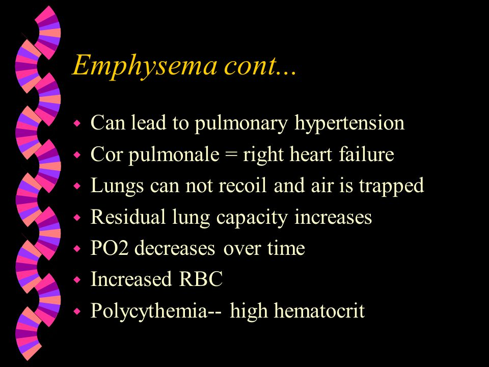 Emphysema w What is it.