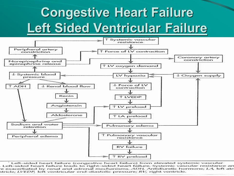 Congestive Heart Failure Left Sided Ventricular Failure