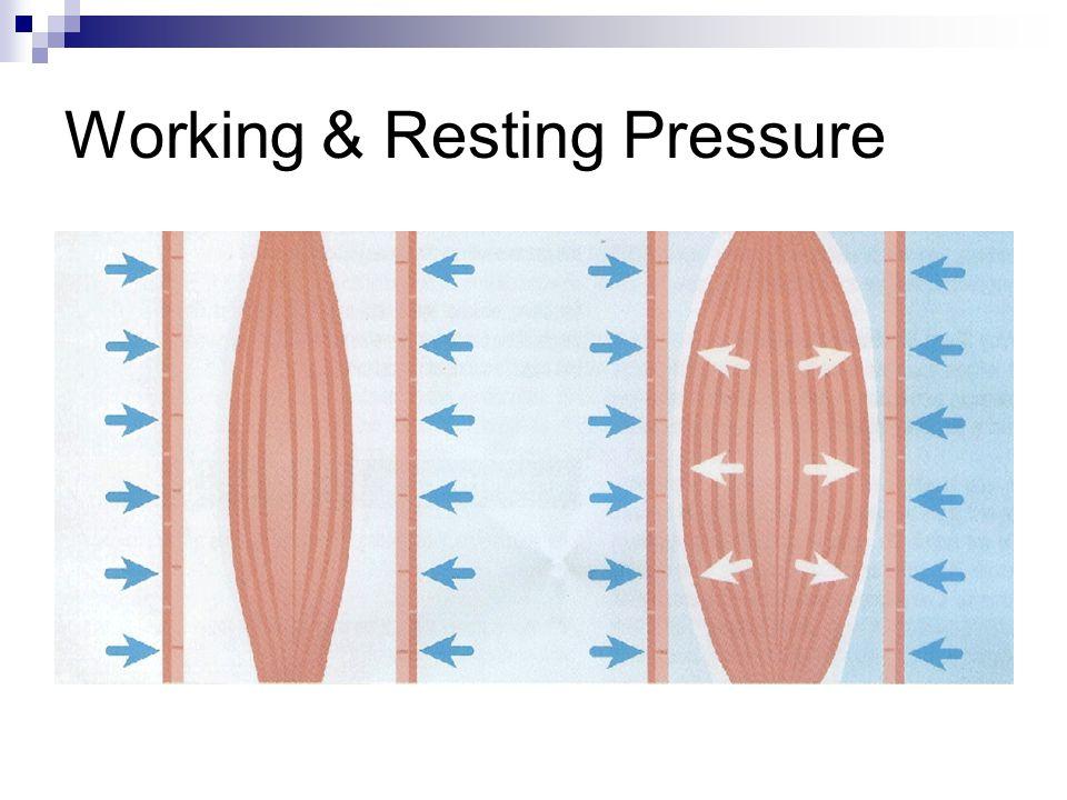 Working & Resting Pressure