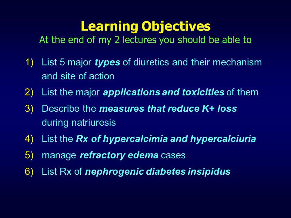 DIURETICS (2 of 2) Dr R.P. Nerurkar Dept. of Pharmacology T.