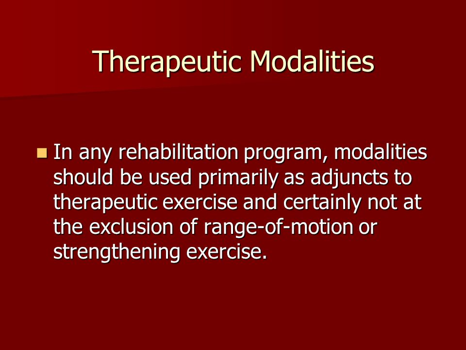 Thermotherapeutic Methods Paraffin Bath Duration: 15 to 30 minutes Duration: 15 to 30 minutes Temp: 126°F to 130°F Temp: 126°F to 130°FIndications: Subacute inflammation Subacute inflammation Chronic inflammation Chronic inflammation Limited range of motion after immobilization Limited range of motion after immobilizationContraindications Open wounds Open wounds Skin infection Skin infection Sensory loss Sensory loss Peripheral vascular disease Peripheral vascular disease