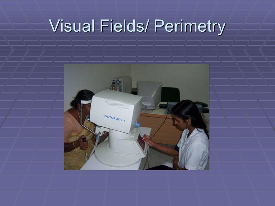 Visual Fields/ Perimetry