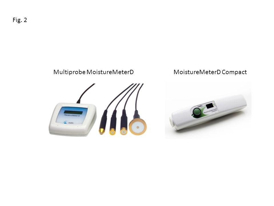Fig. 2 Multiprobe MoistureMeterD MoistureMeterD Compact