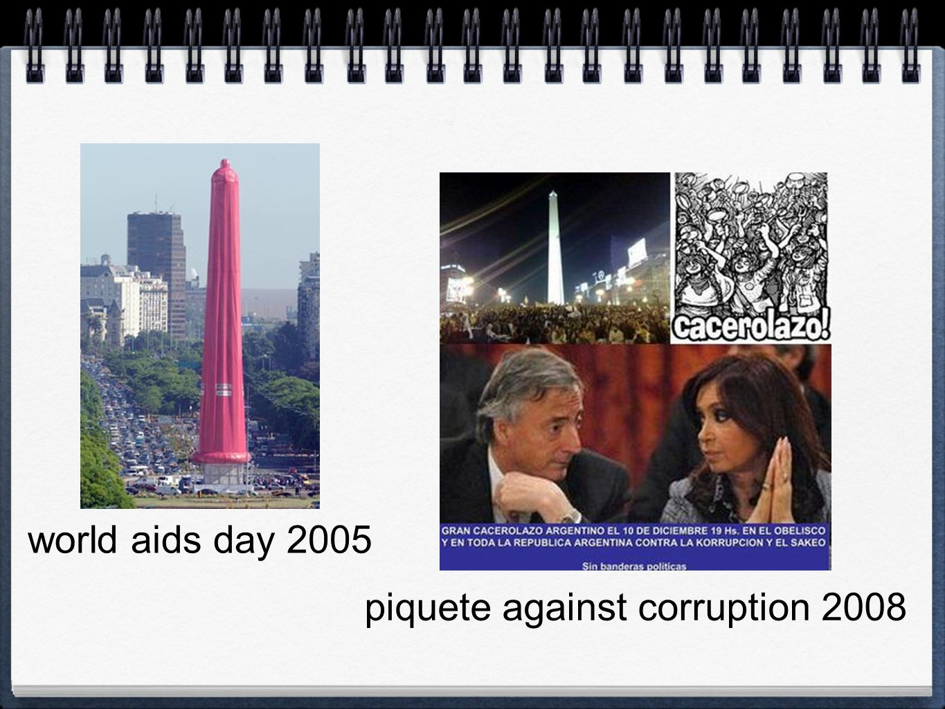 world aids day 2005 piquete against corruption 2008