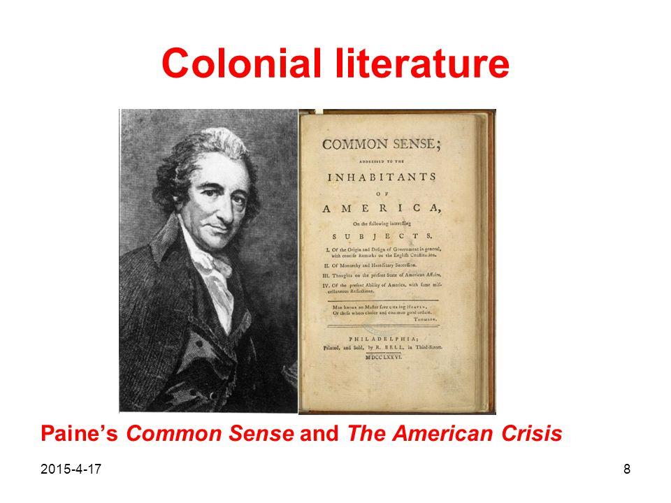 2015-4-1719 Early U.S. literature