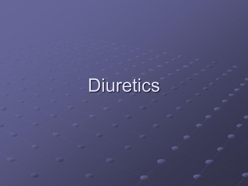Diuretics