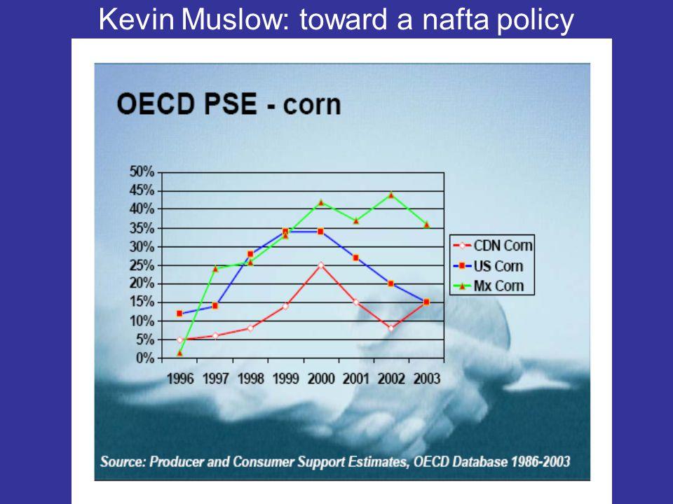 Kevin Muslow: toward a nafta policy