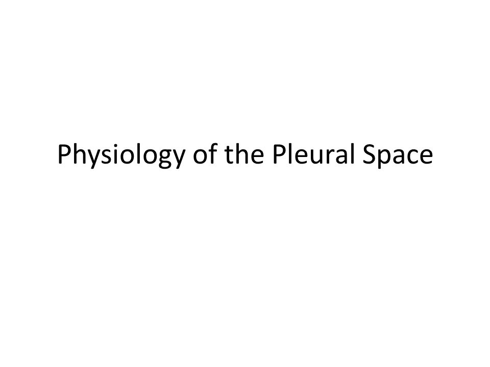 Pathogenesis of Pleural Effusion Pleural fluid formation exceeds the rate of pleural fluid absorption.
