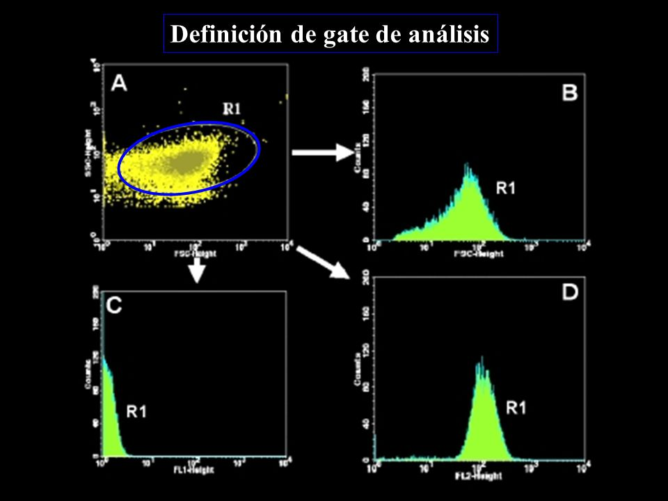 Definición de gate de análisis