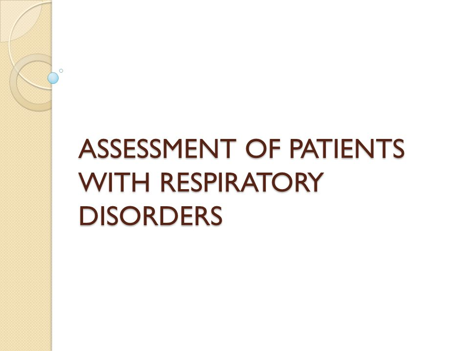 Nursing Diagnosis Impaired gas exchange Ineffective tissue perfusion: cardiopulmonary and peripheral Deficient knowledge related to the disease process Self-care deficit Ineffective airway clearance Ineffective breathing pattern