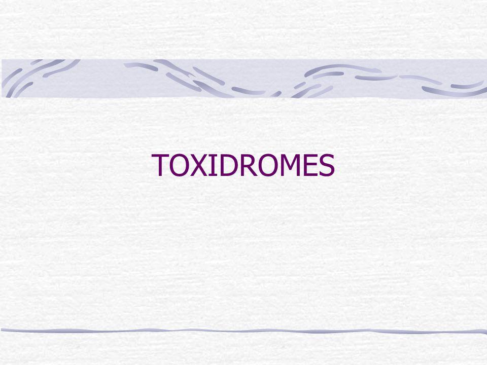 TOXIDROMES