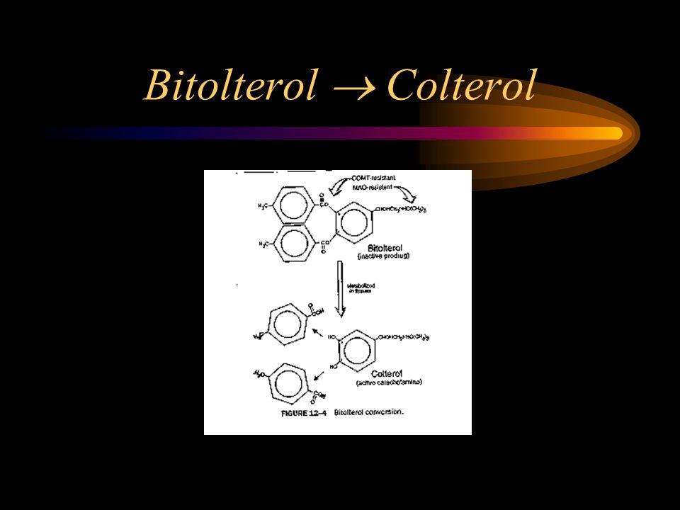 Bitolterol  Colterol
